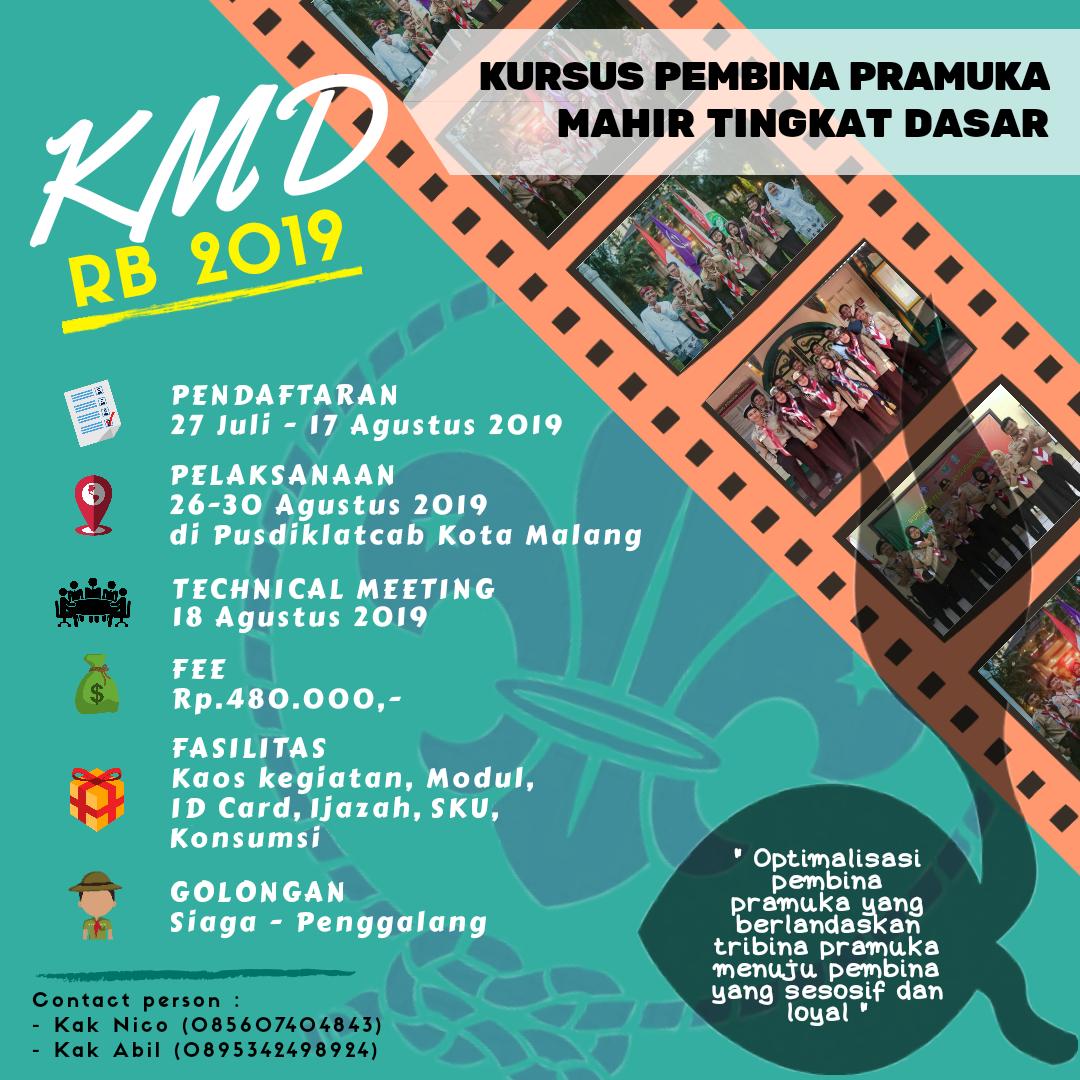 Poster KMD 2019